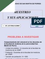 MuestreoAplicaciones SMP 2006