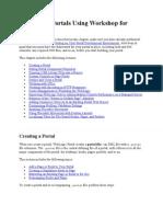 Developing Portals Using Workshop for WebLogic