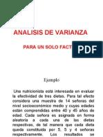 Sesión 10 Analisis de Varianza
