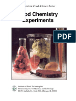 Food Chemistry Experiments