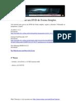 Gravar Um DVD de Forma Simples