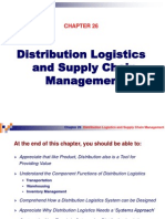Ch26 Distribution Logistics and Supply Chain Management