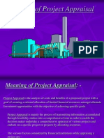 Project Appraisal Ppt