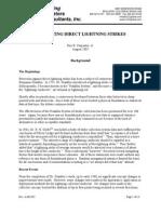 Preventing Direct Lightning Strikes
