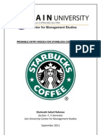 case study starbucks international marketing environment Starbucks: a strategic change and management  these circumstances make it interesting to study the starbucks  domestic and international markets starbucks.