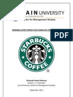 case study starbucks international marketing environment Starbucks: a strategic change and management  these circumstances make it interesting to study the starbucks  domestic and international markets starbucks.
