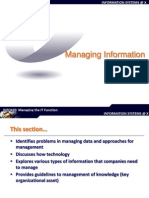 Managing Information Resources 1