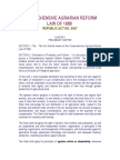 Comprehensive Agrarian Reform Law of 1988