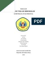 Makalah Komunikasi Birokrasi