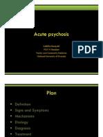Acute Psychosis-KABERA Rene MD