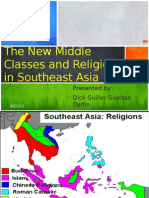 The New Middle Classes and Religion in Southeast