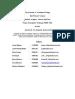 PDWK 110B Group 7 Deepwater Horizon Report