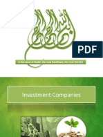 Investment Companies - Final