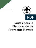Elaboracion de Proyectos Rovers