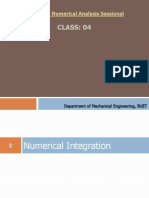 Lecture 4 Numerical Integration