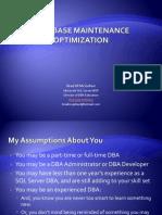 Database Maintenance Optimization - Brad McGehee[2]