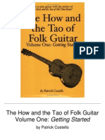 The How and the Tao of Folk Guitar