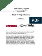 BIOS Boot Spec v1.01