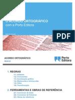 Acordo Ortografio - Porto Editora