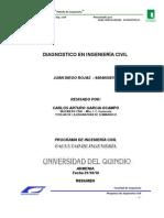 Diagnostico en Ing Civil