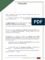 Droit constitutionnel semestre 1