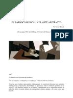 Barroco-musical Pintura Abstracta