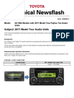 2011 Audio Systems