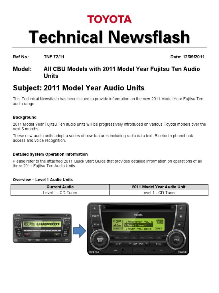 Toyota 86120 0c020 Wiring Diagram Electrical Schematics Fujitsu Ten Diagrams