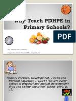 Teaching PDHPE in Primary Schools