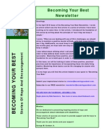 Becoming Your Best Newsletter - August/September 2011