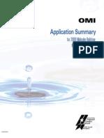 OMI Application Summary