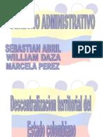 Descentralizacion Territorial