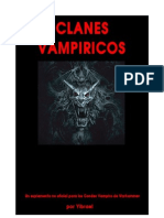 Clanes vampiricos en Warhammer