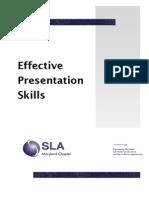 Effective Presentation Skills - Kmetyk