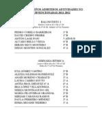 Listado Admitidos Actividades No Subvencionadas 11-12