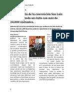 San Luis Digital  2011, nota primer día.