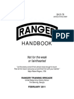 US Army Ranger Handbook 2011 Edition