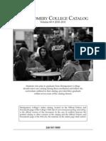 Montgomery College Catalog (2010-11)