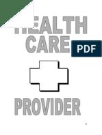 VII. Nurse as a Health Care Provider..