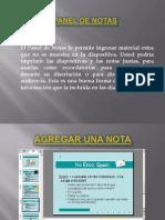 Panel de Notras - SmartArt