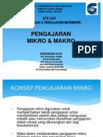 Perbezaan Pengajaran Mikro Dan Makro