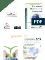 II Jornadas de Educación Para La Sostenibilidad 2008