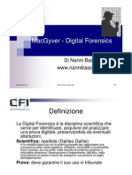 MacGyver - Digital Forensics