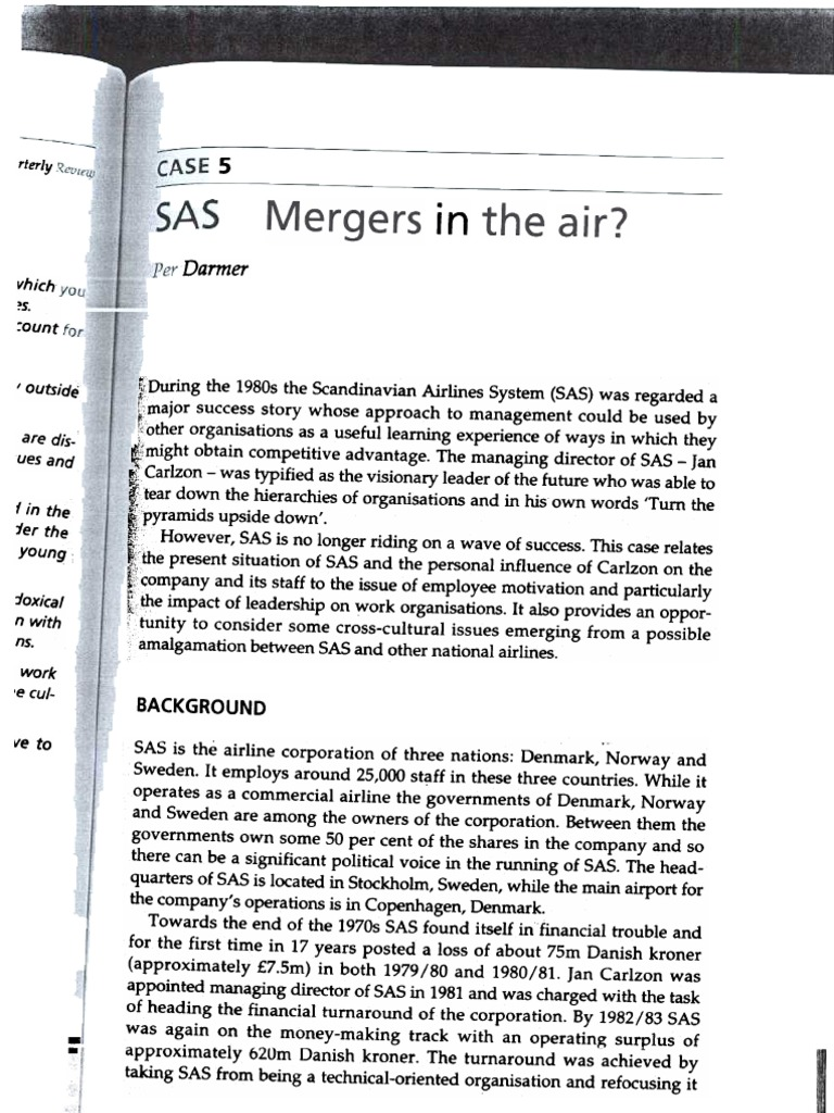 Cases > Case 5 | Airlines | Transport Companies