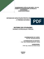 ROTEIRO DE ESTAGIO 6º PERÍODO - AUAN VESPERTINO