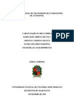 DISEÑO DEL SISTEMA DE TRANSMISIÓN DE UN PROTOTIPO DE AUTOMÓVIL