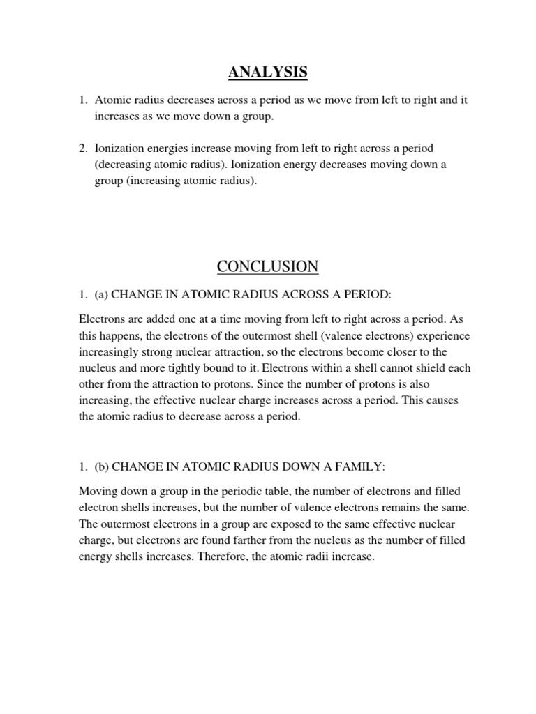 Analysis periodic table electron urtaz Choice Image