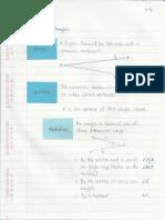 Geometry Interactive Notebook 1-3