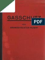 Gasschutz - Hans Rumpf ( Brandingeneur ) / dritte völlig neubearbeitete  Auflage 1936