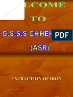 Iron Extraction